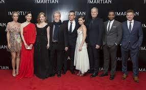 The Martian - cast and director
