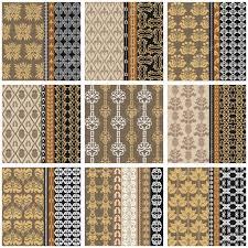 Mega Set Victoriaanse Vintage Behang Met Oosterse En Boheemse Motief