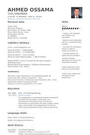 site civil engineer resume