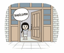 open door welcome. Perfect Welcome Welcome Door Open GIF  DoorOpen House GIFs On E