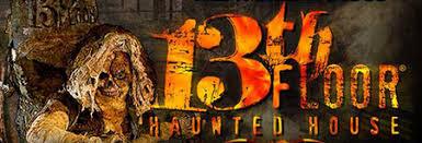 13th floor logo. bogo buy one get free 13th floor haunted house melrose park, il logo