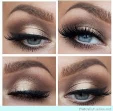 learn how to pop your beautiful eyes with this brown eye makeup for blue eyes ideas