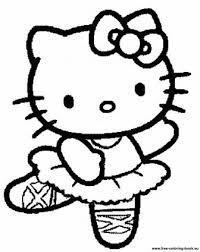 Just click on the hello kitty coloring pages that you like and then click on the print button at the top of the page. Coloring Pages Hello Kitty Pictures Whitesbelfast