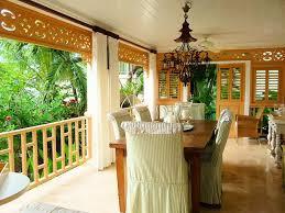 Veranda Dining Rooms Mesmerizing Interior Room Design And Architecture Of Caribbean Indoor Locations