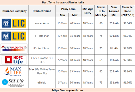 You must have come across term insurance once in a while. Best Term Insurance Plans In India I Top Term Plans