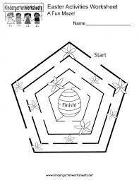 Free Printable Easter Math Worksheet For Kindergarten Worksheets ...