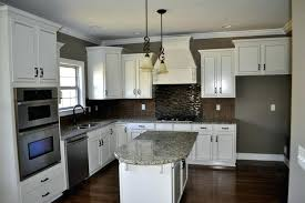kitchen backsplash white cabinets image of popular what color should i paint my kitchen with white cabinets white kitchen cabinets subway tile backsplash
