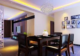 modern dining rooms 2016. Perfect LED Strip Ceiling With Solid Wooden Table And Leather Chair For Modern Dining Room Ideas Decorative Wall Pictures Rooms 2016 M