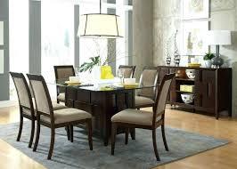 glass dining room table bases rectangular dining table base rectangular