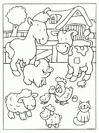 Kleurplaat Lente Lammetjes Schapen Dieren Lente Dieren Kleurplaat