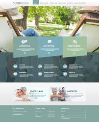 Designing A Retirement Home Beautiful Senior Living Websites Retirement Homes Website