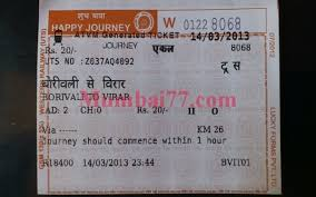 Indian Railway Fare Chart 2018 Mumbai Local Train Fares 2019 Ticket Fares Seasonal Pass