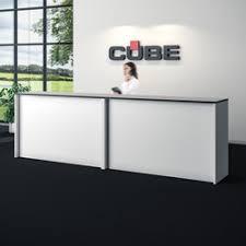 reception furniture design. information desk reception desks cube design furniture