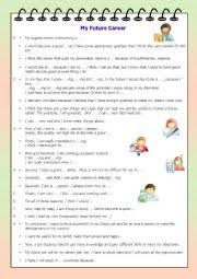 english worksheets my future career writing prompt english worksheet my future career writing prompt