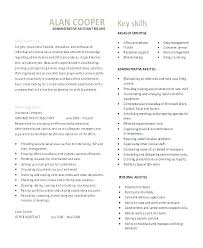 Sample Insurance Assistant Resume Personal Assistant Resumes Samples