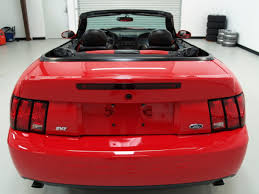 Torch Red 2003 Ford Mustang SVT Cobra 10th Anniversary Convertible ...