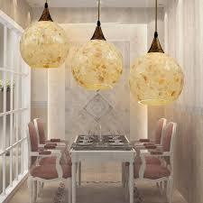 mediter mosaic triple globe shaped pendant light