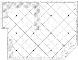 layout for a tiling with a diagonal pattern floor family room kitchen house remodeling decorating construction energy use kitchen bathroom