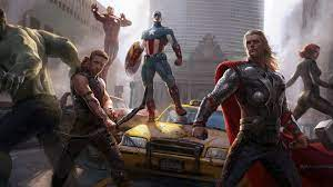 1920x1080 Marvel Heroes 8k Laptop Full ...