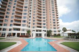 the swimming pool at or near belle maison apartments official