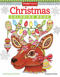Christmas Coloring Book Book By Thaneeya Mcardle Official