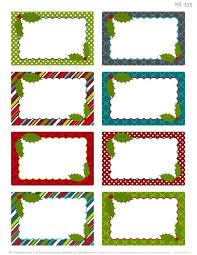 Holiday Address Label Templates Free Christmas Address Labels Templates For Return Label