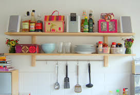 Kitchen Wall Shelf Furniture Smart Kitchen Shelving Ideas Elegant Kitchen Wall