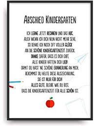 Geschenk Zum Abschied Für Erzieherin Im Kindergarten Von Herzen