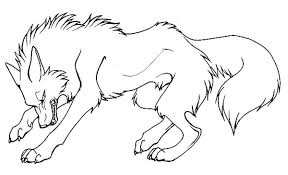 Small Picture Cartoon Wolf Coloring Pages Angry Cartoon Wolf Coloring Pages To