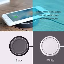 iphone qi wireless charging. rock qi wireless charger 5v 2a fast charging adapter for iphone samsung smartphone iphone