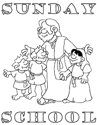 collection of free preschool coloring pages for sunday school