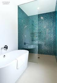 glass tile bathroom best shower ideas and stone modern bathrooms sea glass tile for bathroom