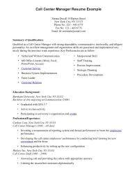 How To Make A Resume For Call Center Job