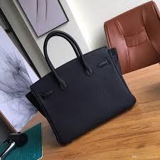 Medium Size 30cm Real Leather Women Handbag New Style Luxury Fashionable Bag