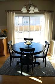 rugs under dining table rug size under round dining table o round table ideas intended for