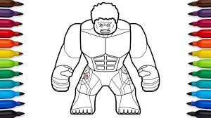 You can print or color them online at. How To Draw Lego Hulk Avengers Age Of Ultron Marvel Superheroes Coloring Pages Youtube