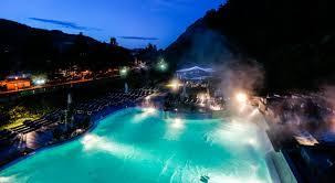Orari piscina termale interna ed esterna
