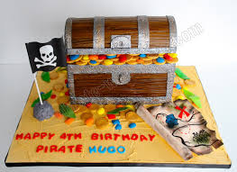Treasure Chest Decorations Pirate Treasure Chest Cake This Pirate Chest Cake Was Made For A