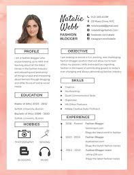 Free Best Fashion Cv Template Download 200 Resume Templates In Psd