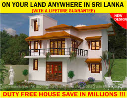 free home plans sri lanka ts119 vajira house builders private limited best