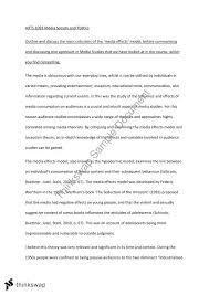 essay on media effects arts media society politics essay on media effects