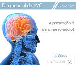 Resultado de imagem para dia mundial do acidente vascular-cerebral