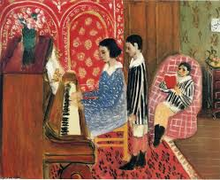 famous painting the piano lesson of henri matisse