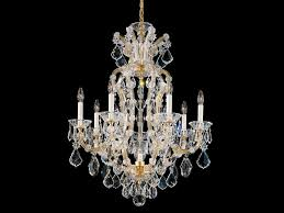 chandelier with swarovski crystals maria theresa chandelier by schonbek