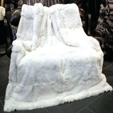 real fur blanket white rabbit fur rug real rabbit fur blanket rugs and carpets for living