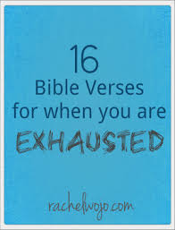 Encouraging Christian Quotes Impressive 48 Bible Verses For When You Are Exhausted RachelWojo