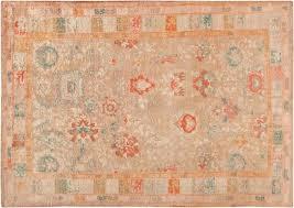 rare antique angora oushak rug 47651 by nazmiyal