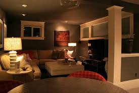 Small Basement Designs Cool Is This The Look R Is After For His Hobbies Room Light At Day Cozy
