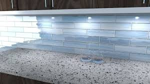 material blue glass tile white granite brown unfinished wooden cabinet choosing tiles countertops backsplash and ideas
