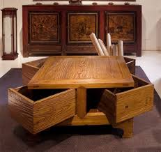Coffee Tables With Storage Space
